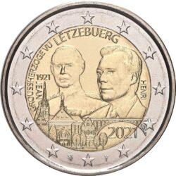 2 евро, Люксембург (100 лет со дня рождения Великого Герцога Жана)