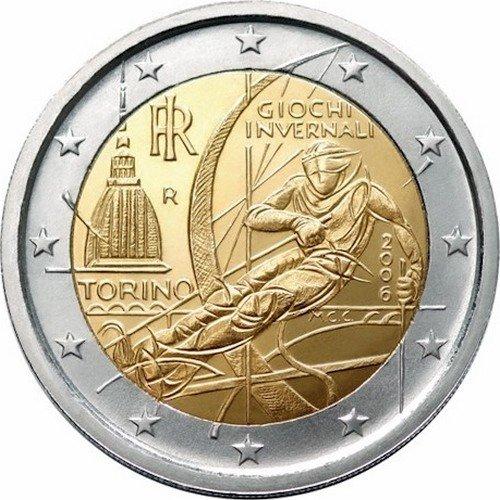 2 евро италия 1 менге 1980 цена