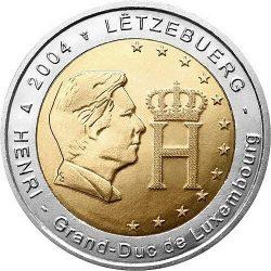 2 евро, Люксембург (Герцог Люксембурга)