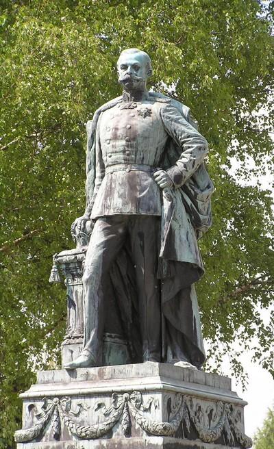 Памятник Адольфу I в г.Кёнигштайн (Германия)