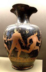 Традиция зажигания и движения Олимпийского огня существовала ещё в Древней Греции