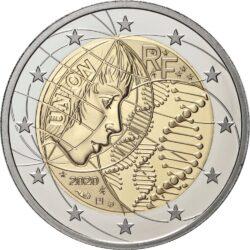 2 евро, Франция (Медицинские исследования)