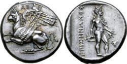 Abdera. Stater. Circa 355 BC.