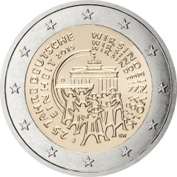 2 евро, Германия (25-летие объединения Германии)