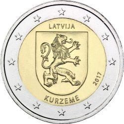 2 евро, Латвия (Историческая область Курземе)
