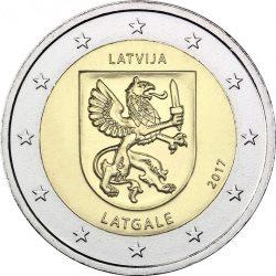 2 евро, Латвия (Историческая область Латгале)