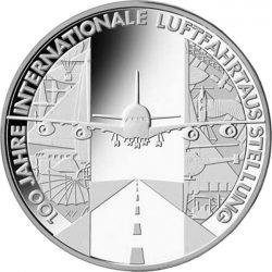 10 евро, Германия (100 лет Международному авиакосмическому салону ILA)