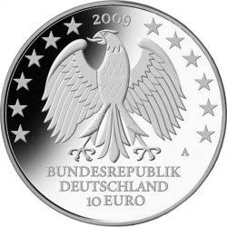 10 евро, Германия (600 лет Лейпцигскому университету)