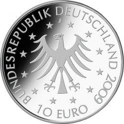 10 евро, Германия (100 лет со дня рождения графини Марион Дёнхофф)