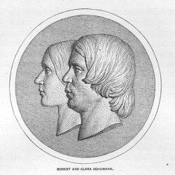 Роберт и Клара Шуман (1918)