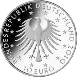 10 евро, Германия (200 лет со дня рождения Роберта Шумана)