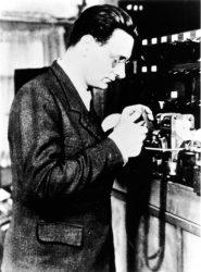 Конрад Цузе (1945, фотография из Комрьютерного историчского музея)