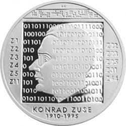10 евро, Германия (100 лет со дня рождения Конрада Цузе)