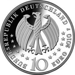 10 евро, Германия (300 лет изготовления фарфора в Германии)