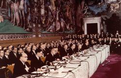 25 марта 1957 года - подписание Римского договора