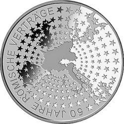 10 евро, Германия (50 лет Римскому договору)