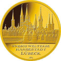 100 евро, Германия (Любек)