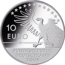10 евро, Германия (200 лет со дня рождения Карла Шпицвега)