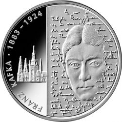 10 евро, Германия (125 лет со дня рождения Франца Кафки)