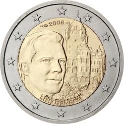 2 евро, Люксембург (Замок Берг)