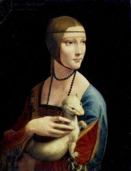 «Дама с горностаем» (1489—1490, Леонардо да Винчи, Национальный музей, Краков)