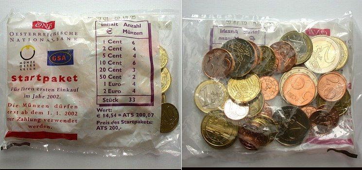 Стартовый набор евро, Австрия