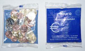 Стартовый набор евро, Эстония