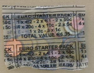 Стартовый набор евро, Ирландия