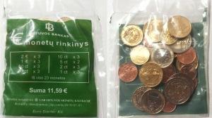 Стартовый набор евро, Литва