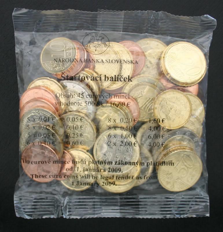 Стартовый набор евро, Словакия