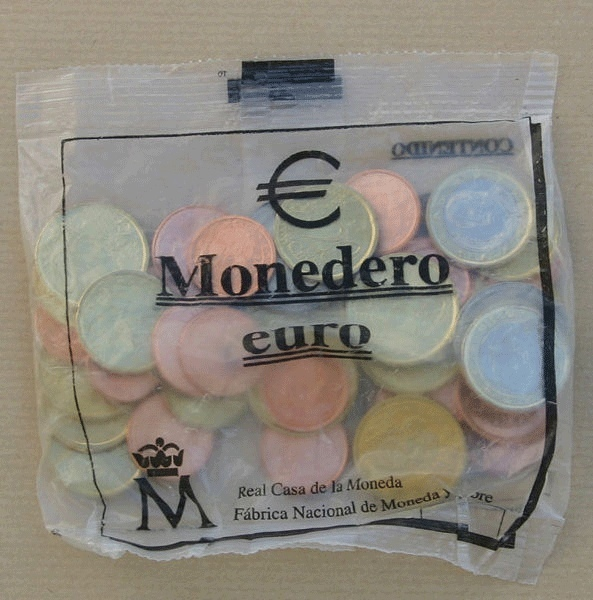 Стартовый набор евро, Испания